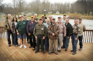 LFD's from across the country pose for a photo during the 9th annual LFD meeting. Over 80 sportsmen and women serve as USSA/USSAF Local Field Directors.